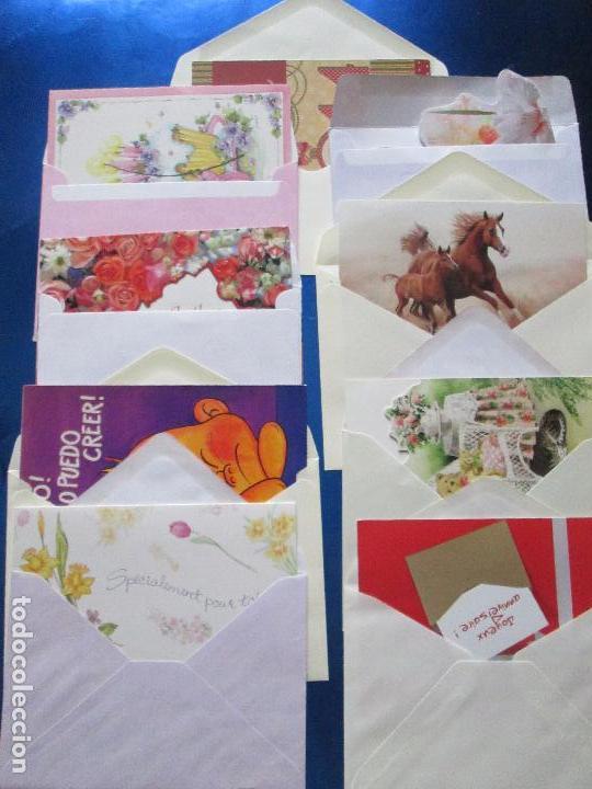 Postales: lote 9 tarjetas navideñas-nuevas-preciosas-escasas-sobres-ver fotos. - Foto 32 - 75110271