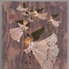 Postales: FELICITACION NAVIDAD ARTIS MUTI - ANGELITOS. Lote 76185163