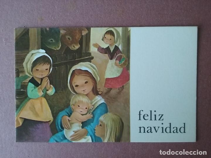 POSTAL NAVIDAD. NIÑOS. BELEN. CYZ. 426/118-A. 1977. ESCRITA. (Postales - Postales Temáticas - Navidad)