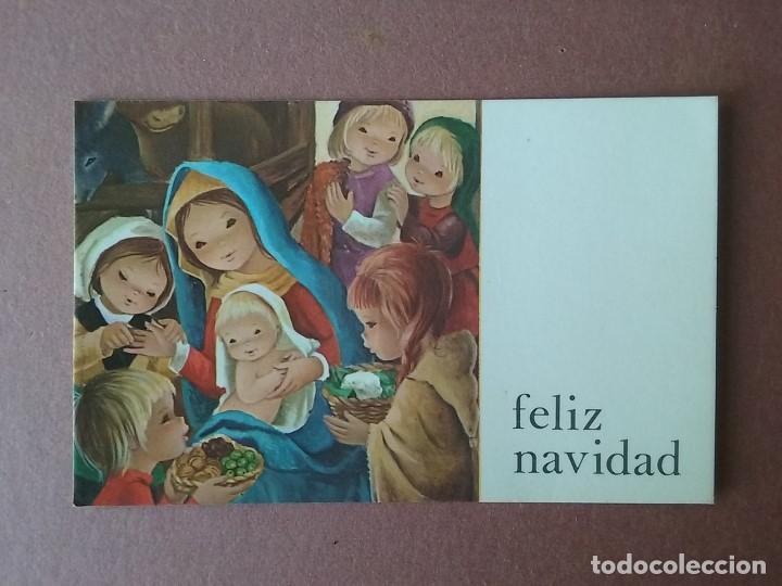 POSTAL NAVIDAD. NIÑOS. BELEN. CYZ. 426/118-B. 1977. ESCRITA. (Postales - Postales Temáticas - Navidad)