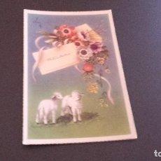 Postales: POSTAL - FELICIDADES - ESCRITA NI CIRCULADA 1956. Lote 82077564