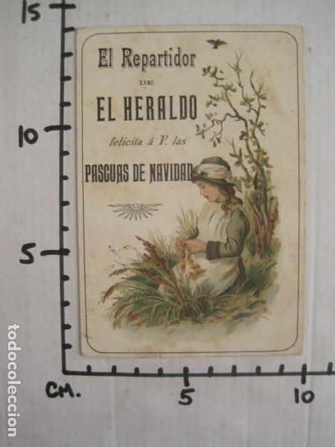 Postales: EL REPARTIDOR DE EL HERALDO - FELICITA PASCUAS NAVIDAD- ANTIGUA -VER FOTOS -(V-10.371) - Foto 6 - 82315212