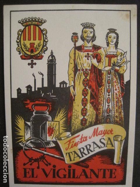 Postales: EL VIGILANTE TARRASA -FELICES PASCUAS NAVIDAD -VER FOTOS -(V-10.377) - Foto 2 - 82316052