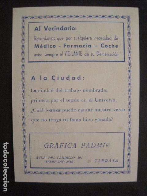 Postales: EL VIGILANTE TARRASA -FELICES PASCUAS NAVIDAD -VER FOTOS -(V-10.378) - Foto 3 - 82316128