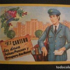 Postales: EL CARTERO- FELICITA PASCUAS NAVIDAD -VER REVERSO 1980 -VER FOTOS -(V-10.384). Lote 82318872