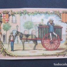 Postales: EL BASURERO - L´ESCOMBRAIRE - FELICITACION NAVIDAD - SIGLO XIX -VER FOTOS(V-10.713). Lote 84732168