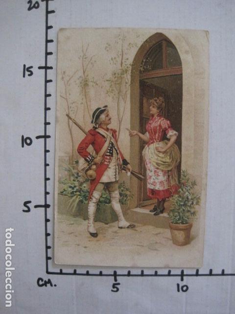 Postales: FELICITACIO NADAL -FELICITACION NAVIDAD- JOAN DOMENECH - SIGLO XIX -VER FOTOS(V-10.726) - Foto 3 - 84735204