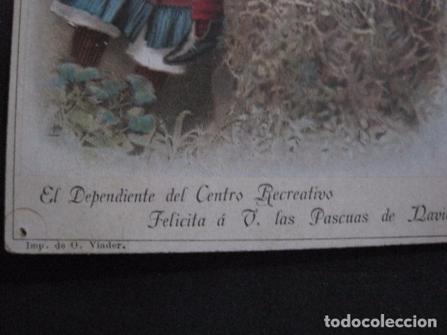 Postales: FELICITACION NAVIDAD-EL DEPENDIENTE CENTRO RECREATIVO -VER FOTOS -(V-10.729) - Foto 2 - 84735792