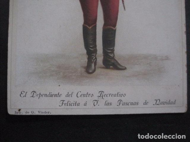 Postales: FELICITACION NAVIDAD-EL DEPENDIENTE CENTRO RECREATIVO -VER FOTOS -(V-10.730) - Foto 3 - 84735840