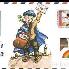 Postales: FELICITACIÓN NAVIDAD * CARTERO , MENSAJE DE PAZ * ARTIS MUTI 1985 - 18223 S. Lote 295831768