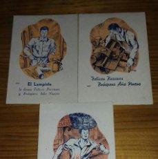 Postales: LOTE FELICITACIONES NAVIDAD- AGUINALDO . Lote 86883156