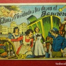 Postales: FELICES NAVIDADES LES DESEA EL BASURERO - ALSINA - ANTIGUA FELICITACION NAVIDEÑA OFICIOS. Lote 87389540