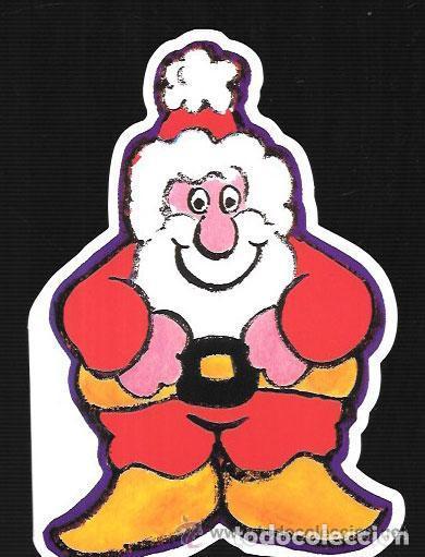 FELICITACION NAVIDAD PAPA NOEL -TROQUELADA (Postales - Postales Temáticas - Navidad)