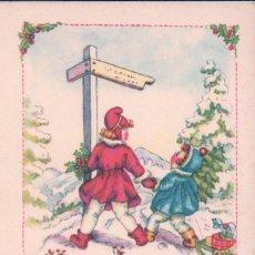 Postales: POSTAL FELIZ NAVIDAD - GELUKKIG KERSTFEEST - HOLANDESA - CIRCULADA. Lote 89746880