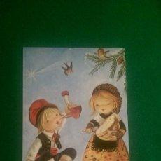 Postales: ANTIGUA POSTAL NAVIDEÑA «CATALANES TÍPICOS COMIENDO Y BEBIENDO» AÑO 1981 SERIE 894/126-B. Lote 90101160