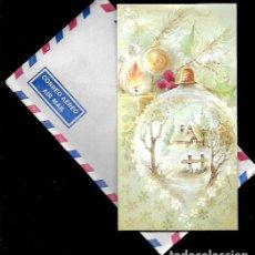 Postales: FELICITACION NAVIDAD BARÓ - CON SOBRE - 1982. Lote 180251225