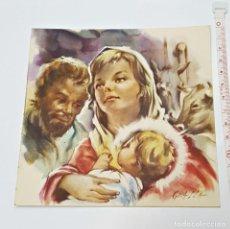 Postales: ANTIGUA TARJETA DE NAVIDAD SEVILLA DICIEMBRE DE 1959. Lote 91001985
