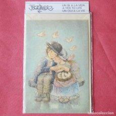 Postales: FERRANDIZ - POSTAL NAVIDEÑA DE 1983 - NUEVA CON SU SOBRE Y FUNDA DE PLÁSTICO. Lote 94072790