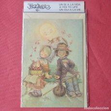 Postales: FERRANDIZ - POSTAL NAVIDEÑA DE 1983 - NUEVA CON SU SOBRE Y FUNDA DE PLÁSTICO. Lote 94073335