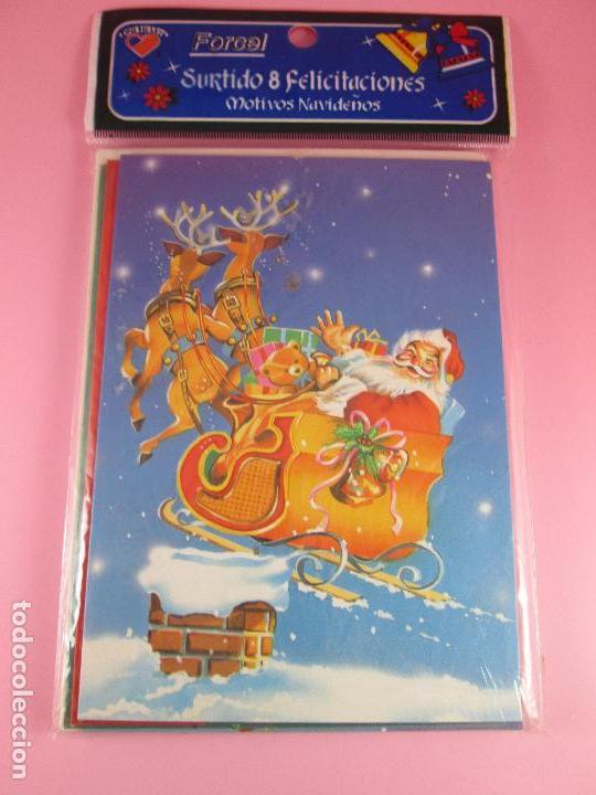 Postales: lote 8 postales-motivos navideños-precintado-ver fotos. - Foto 2 - 95315383