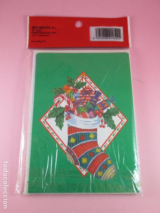 Postales: lote 8 postales-motivos navideños-precintado-ver fotos. - Foto 3 - 95315383