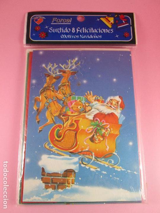 Postales: lote 8 postales-motivos navideños-precintado-ver fotos. - Foto 4 - 95315383