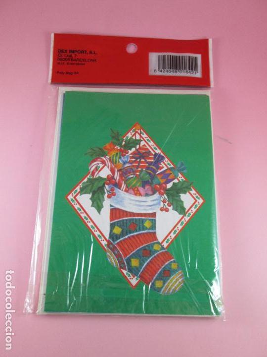 Postales: lote 8 postales-motivos navideños-precintado-ver fotos. - Foto 5 - 95315383