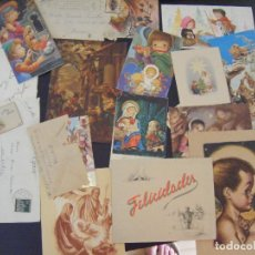 Postales: JML LOTE 16 POSTAL POSTALES NAVIDAD FELICITACION NAVIDEÑA, POSTAL NIÑOS. ALGUNAS CON SOBRE VER FOTOS. Lote 95513259
