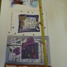 Postales: 4 TARJETAS NAVIDEÑAS, ALGUNAS MUSICALES. ESCRITAS.. Lote 97253723