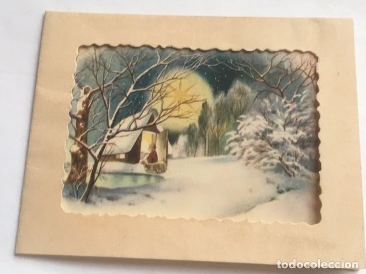 Rm400 antigua tarjeta original navidad comprar postales - Tarjeta navidad original ...