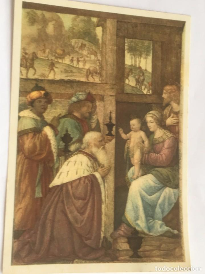 Rm400 antigua tarjeta original navidad belen comprar - Tarjeta navidad original ...