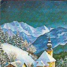 Postales: FELICITACIÓN NAVIDAD * FANTASIA INVERNAL * ARTIS MUTI - AÑO 1977. Lote 98574459