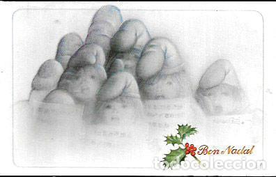 FELICITACION NAVIDAD BLADE * CANTANDO VILLANCICOS * 1986 (Postales - Postales Temáticas - Navidad)