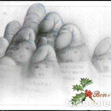 Postales: FELICITACION NAVIDAD BLADE * CANTANDO VILLANCICOS * 1986. Lote 99175547
