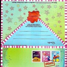 Postales: CARTA A LOS REYES MAGOS FAMOSA. Lote 99572987