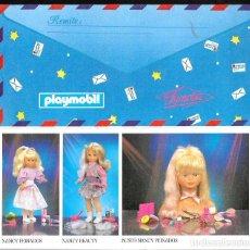 Postales: CARTA A LOS REYES MAGOS FAMOSA - PLAYMOBIL. Lote 99573063