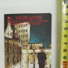 Postales: TARJETA FELICITACIÓN DE NAVIDAD DE 1976, EL VIGILANTE LES DESEA FELICES PASCUAS. Lote 98644251