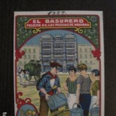 Postales: EL BASURERO - FELICITA PASCUAS NAVIDAD- MUY ANTIGUA -VER FOTOS -(50.867). Lote 102610527