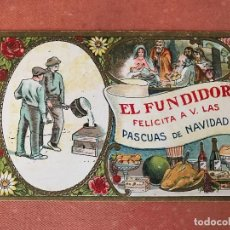 Postales: ANTIGUA POSTAL NAVIDEÑA O CHRISTMAS: EL FUNDIDOR. Lote 103212855