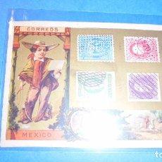 Postales: CORREOS - FELICITACION CORREOS MEXICO , LOS MOZOS DE LA CASA FELICITAN Á V. LAS PASCUAS DE NAVIDAD . Lote 103286087