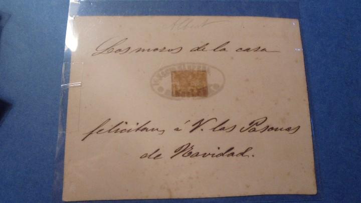 Postales: CORREOS - FELICITACION CORREOS MEXICO , LOS MOZOS DE LA CASA FELICITAN Á V. LAS PASCUAS DE NAVIDAD - Foto 2 - 103286087