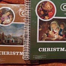 Postales: CATALOGO CHRISTMAS 1984 EDICIONES A.G. COBAS SA C.Y.Z. 2 TOMOS SIN USO. Lote 105487030