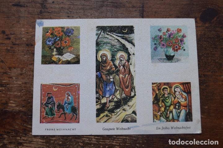 FELICITACION DE ALEMANIA, SIN CIRCULAR (Postales - Postales Temáticas - Navidad)