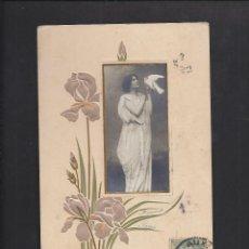 Postales: POSTAL 1904. BONNE ANNÉE. Lote 106081563