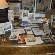 Postales: LOTE 133 POSTALES NAVIDAD ,AÑOS.50-60-70-80 VARIAS HECHAS A MANO,TODAS ESCRITAS,ALGUNAS MUY ORIGINAL. Lote 108323063