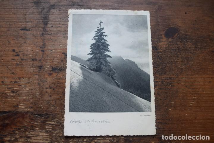 FELICITACION DE AÑO NUEVO, AUSTRIA, 1959, CIRCULADA (Postales - Postales Temáticas - Navidad)