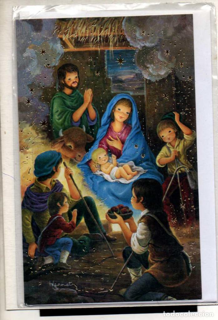 TARJETA POSTAL DE NAVIDAD EKL ALLEGRO ~ SERIE PEQUEÑA (Postales - Postales Temáticas - Navidad)