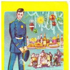 Postales: EL VIGILANTE LES DESEA FELICES NAVIDADES - 1965. Lote 109353735