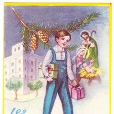 Postales: EL APRENDIZ LES DESEA FELICES PASCUAS - 1962. Lote 109353903
