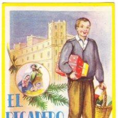Postales: EL RECADERO LES DESEA FELICES PASCUAS - 1962. Lote 109354023